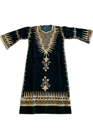 Zazi Vintage Velvet maxi dress
