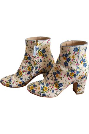 Polly Plume Leather ankle boots