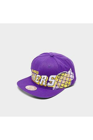 Mitchell And Ness Mitchell & Ness Los Angeles Lakers The Grid Snapback Hat in /