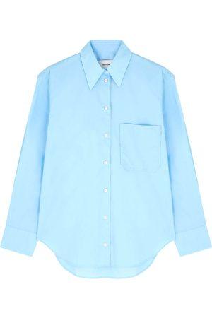 OROTON Cotton poplin shirt