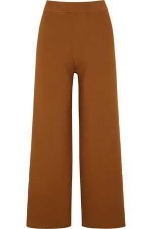 OROTON Cropped knitted trousers