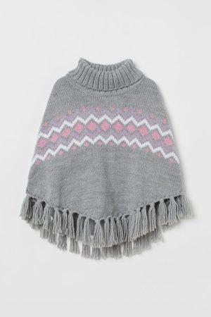 H&M Kids High Necks - Knit Turtleneck Poncho