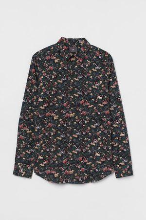 H&M Muscle Fit Cotton Shirt
