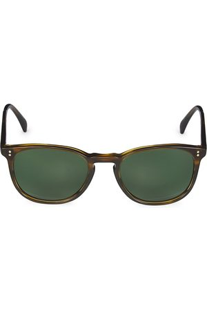 Oliver Peoples Finley 51MM Semi Matte Sable Tortoise Sunglasses