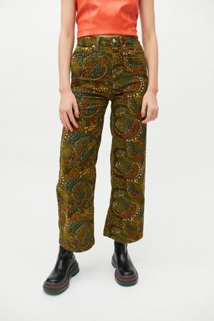 BDG High & Wide Printed Corduroy Pant