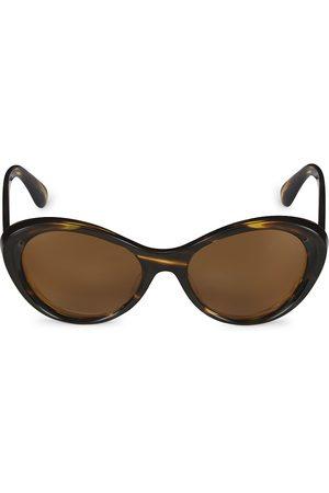 Oliver Peoples Zarene 55MM Cocobolo Cat Eye Sunglasses