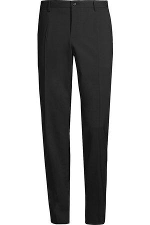 Dolce & Gabbana Wool Stretch Single Pleated Pants