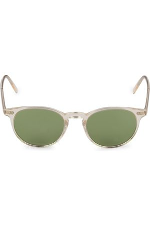 Oliver Peoples Riley 49MM Buff Round Sunglasses