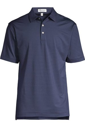 Peter Millar Crafty Performance Striped Polo Shirt