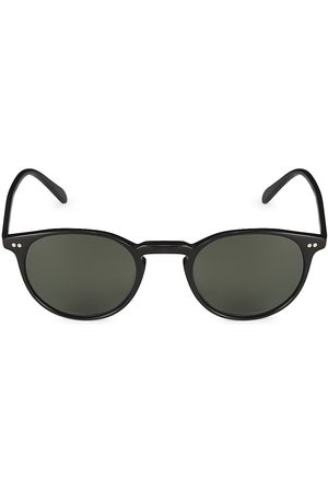 Oliver Peoples Riley 49MM Round Sunglasses