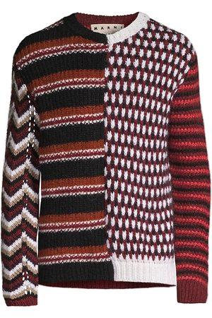 Marni Patchwork Block Sweater
