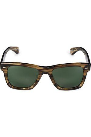 Oliver Peoples Oliver 51MM Cocobolo Wayfarer Sunglasses