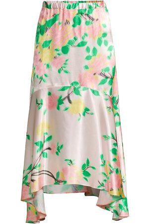 Hope for Flowers Asymmetrical Midi-Skirt