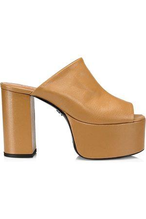 SIMON MILLER High Raid Peep-Toe Sandals
