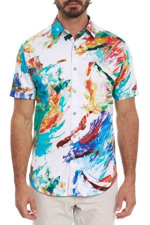 Robert Graham Men Short sleeves - Fireworks Short Sleeve Shirt