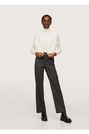 MANGO Women Gilets - Textured cotton vest