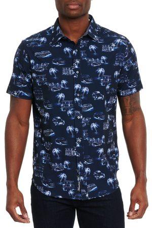 Robert Graham Men Short sleeves - Art Basel Short Sleeve Shirt