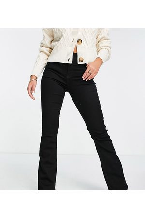 River Island Mid rise flared jeans in