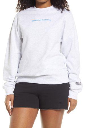 Petals and Peacocks Women Hoodies - Women's Change For The Better Sweatshirt