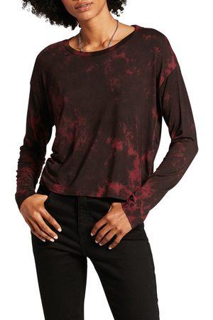 Volcom Women's Be Easy Babe Tie Dye Long Sleeve T-Shirt