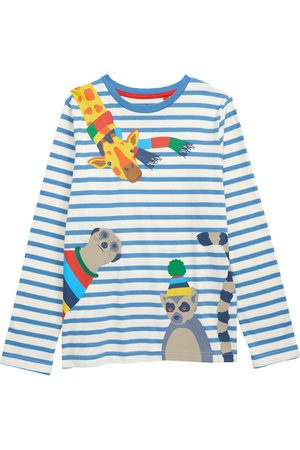 Boden Toddler Boy's Boden Kids' Fun Animal Long Sleeve T-Shirt