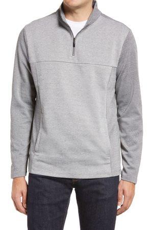 Robert Barakett Men's Milligan Long Sleeve Half Zip Sweater