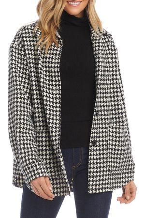 Karen Kane Women's Houndstooth Shirt Jacket