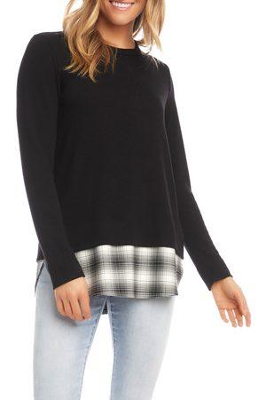 Karen Kane Women's Layered Sweater