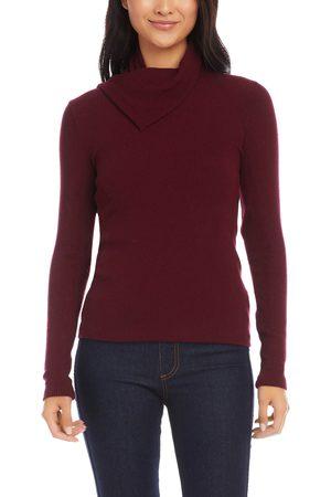 Karen Kane Women Turtlenecks - Women's Drape Turtleneck Sweater