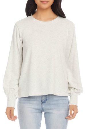 Karen Kane Women's Blouson Sleeve Brushed Jersey Top