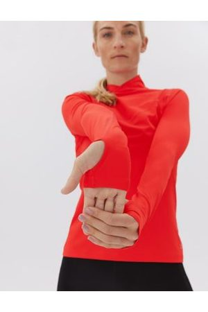 GOODMOVE Funnel Neck Base Layer Long Sleeve Top