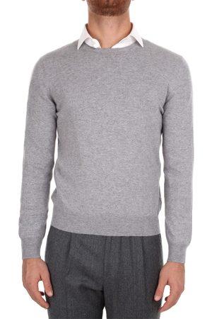 BARBA Choker Men Grey Cashmere
