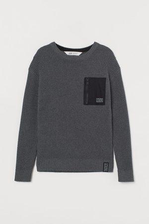 H&M Kids Sweaters - Pocket-detail Sweater