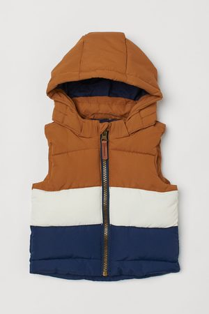 H&M Gilets - Padded Hooded Vest