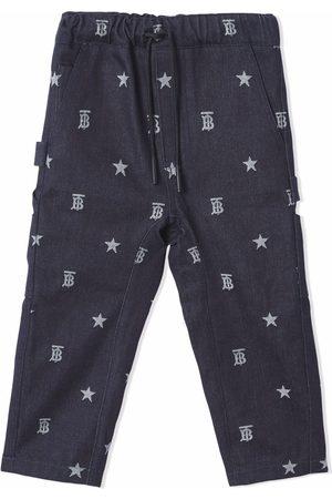 Burberry TB Monogram multi-pocket trousers
