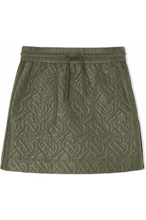 Burberry Monogram-quilted skirt