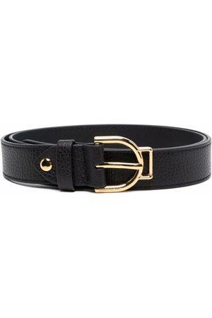 Coccinelle Pebble-leather buckle belt