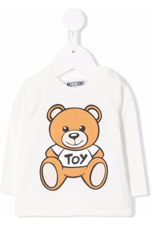 Moschino Teddy Bear-print long-sleeve T-shirt