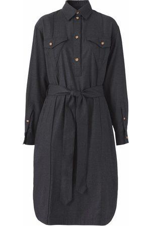 Burberry Long-sleeve shirt dress - Grey