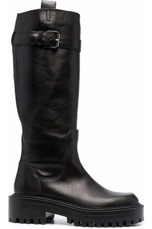 vic matiè Side-buckle detail boots