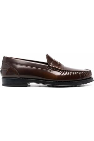 Tod's Glossy leather loafers