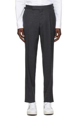 Tom Ford Grey Subtle-Stretch Trousers