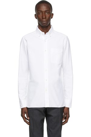 Tom Ford Men Long sleeves - Broadcloth Button Long Sleeve Shirt