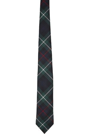 Beams Men Neckties - Wool Check Tie