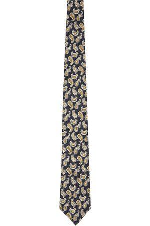 Beams Silk Paisley Print Tie