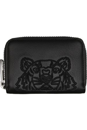 Kenzo Leather Kampus Tiger Card Holder