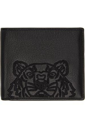 Kenzo Men Wallets - Black Kampus Wallet