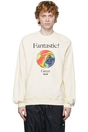 Msgm Men Sweatshirts - Cotton 'Fantastic!' Sweatshirt