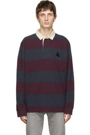Isabel Marant Men Polo Shirts - Arno Long Sleeve Polo