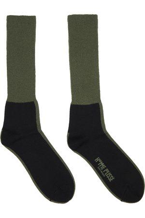 HOMME PLISSÉ ISSEY MIYAKE Line Wool Socks